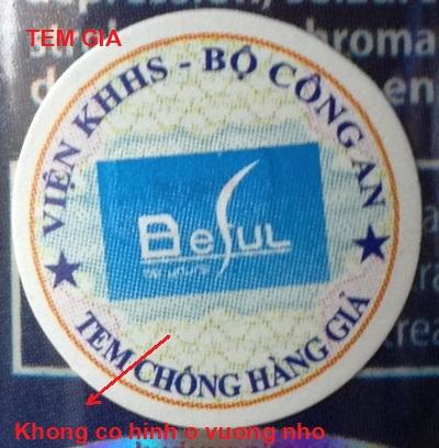 Tem bao hanh lam gia cua Beful