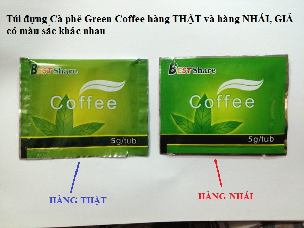 so sanh tui dung ca phe giam can green coffee that va gia