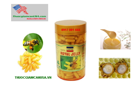 sua ong chua royal jelly