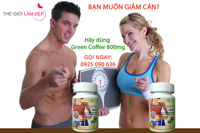 Green Coffee 800mg - Hộp 30 viên 01