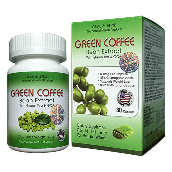 Green Coffee 800mg - Hộp 30 viên