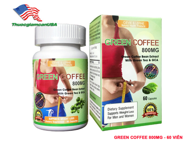 Green Coffee 800mg - Hộp 60 viên