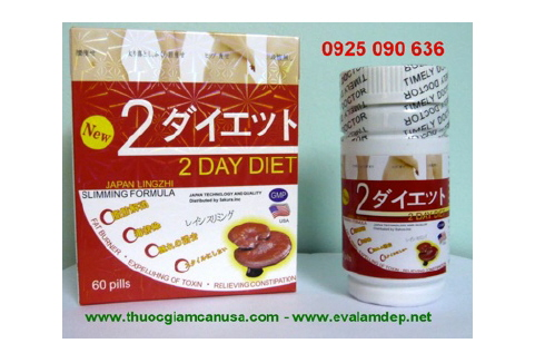 2 DAY DIET - 2 DAY DIET USA - VIÊN GIẢM CÂN 2 DAY DIET MADE IN USA