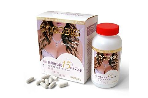 GoGo Big Intelligent Bust - Viên uống nở ngực chiết xuất từ thiên nhiên