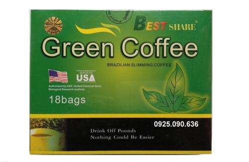 Cà phê giảm cân Green Coffee, Trà giảm cân Green Coffee, ca phe xanh giam can