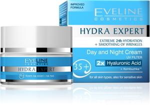 Eveline Hydra Expert Day and Night Cream - Kem dưỡng Ngày Đêm 35+