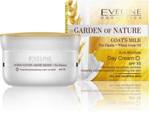 Kem dưỡng ngày dưỡng chất sữa dê Eveline Garden of Nature Goat's Milk
