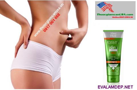 Kem giảm béo EVELINE SLIM EXTREME 4D, đánh tan vùng tích tụ mỡ