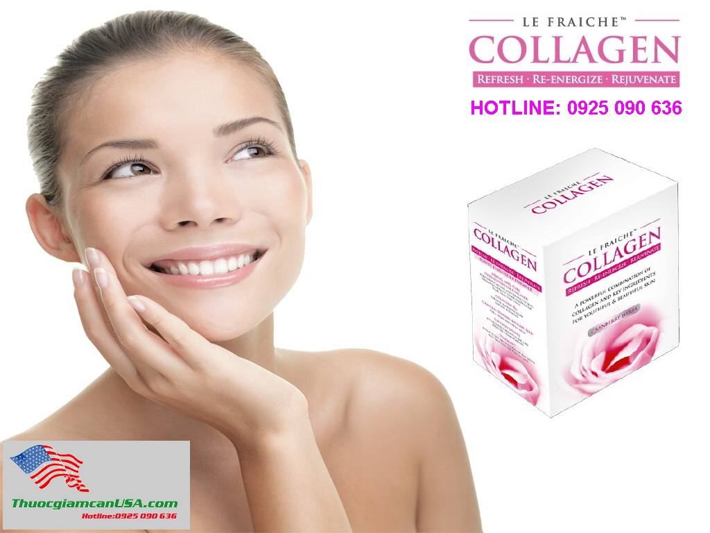 Le Fraiche Collagen - Collagen của Pháp bổ sung Collagen tốt nhất