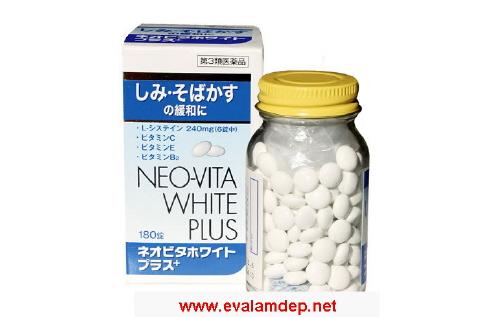 NEO-VITA White Plus - Viên uống trắng da, bảo vệ da. Neo vita white plus - vien uong lam trang da