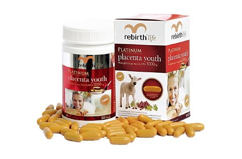 Nhau thai cừu Rebirth life- Nhau thai cừu tốt nhất của Úc, hàng chính hãng 100%