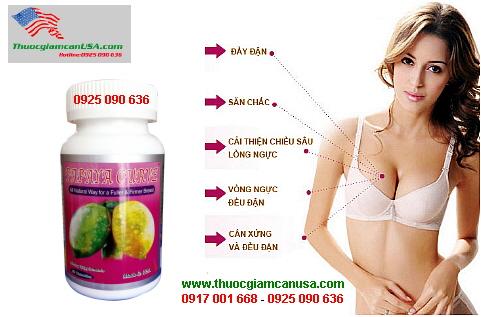 Papaya Curve - Viên uống nở ngực từ tinh chất đu đủ