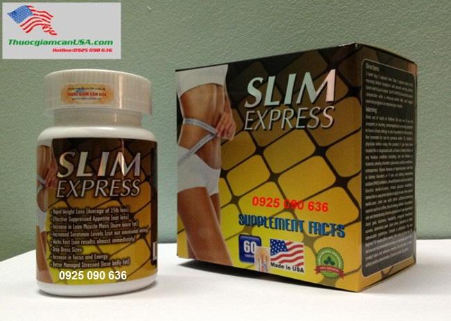 SLIM EXPRESS USA - VIÊN GIẢM CÂN THẢO DƯỢC SLIM EXPRESS