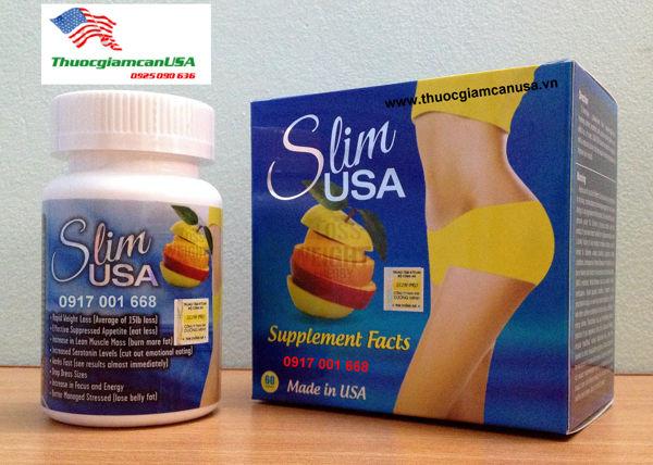 Slim USA - Viên giảm cân SLIM USA hiệu quả nhất hiện nay