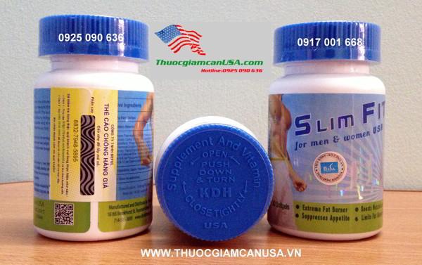 Slimfit usa- Viên giảm cân Slimfit USA mẫu mới 2014
