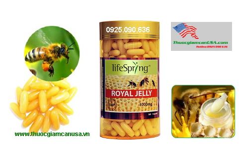 Sữa ong chúa LifeSpring Royal Jelly 1000mg