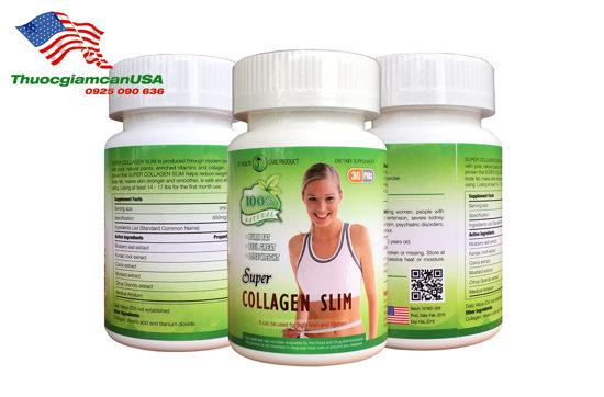 Super Collagen Slim, giảm cân nhanh chóng, hiệu quả cao