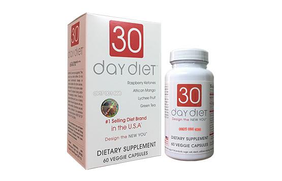 30 Day Diet - Viên giảm cân 30 DAY DIET (USA)