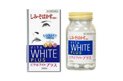 VITA White Plus CEB2 - Viên trị nám da, đốm nâu, giúp da trắng sáng, chống lão hóa